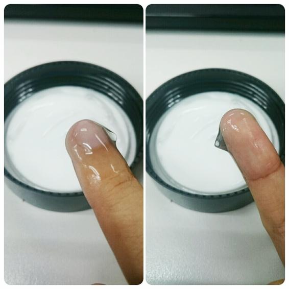neogen-dipped finger